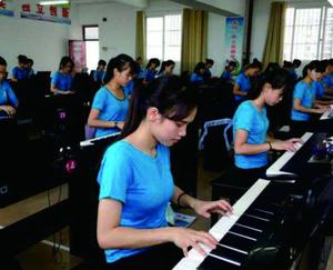 钢琴实训室